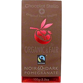 Chocolat Stella Dark 60% With Pomegranate, 100 g