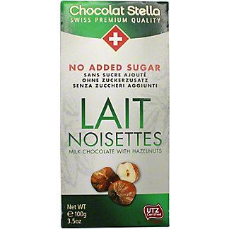 Chocolat Stella Milk Chocolate With Hazelnuts, 100 g