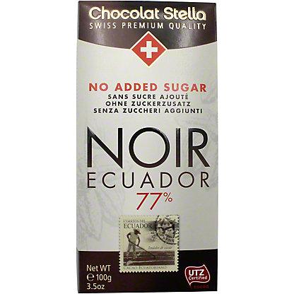 Chocolat Stella Dark 77% Ecuador No Add Sugar, 100 g