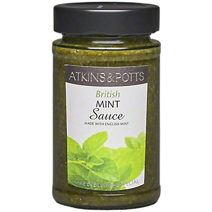 Atkins And Potts Mint Sauce With English Mint, 240 g