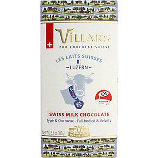 Villars 100% Swiss Luzern Alps Milk Chocolate, 3.53 OZ