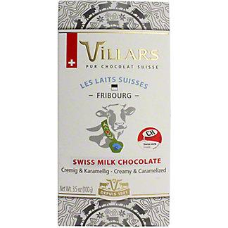 Villars 100% Frigourg Alps Milk Chocolate, 3.53 OZ
