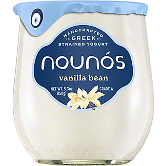 Nounos Vanilla Bean Yogurt, 5.3 OZ