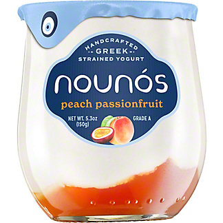 Nounos Peach Passion Yogurt, 5.3 OZ