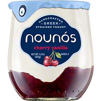 Nounos Cherry Vanilla Yogurt, 5.3 OZ