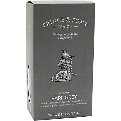 Prince & Sons Tea Co. Earl Gray, 15 CT