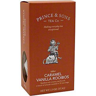 Prince & Sons Tea Co. Caramel Vanilla Rooibos, 15 CT