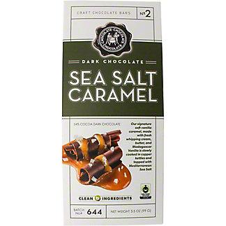 Chocolate Chocolate Chocolate Dark Sea Salt Caramel Chocolate Bar, 3.5 OZ
