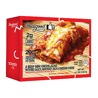 Real Good Beef Enchilada, 2 ct