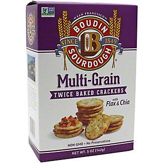 Boudin Sourdough Multi Grain Cracker, 5 OZ