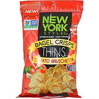New York Begal Crisps Tomato Bruchetta, 6 OZ