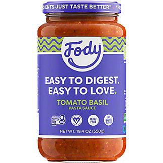 Fody Tomato Basil Pasta Sauce, 19.4 oz