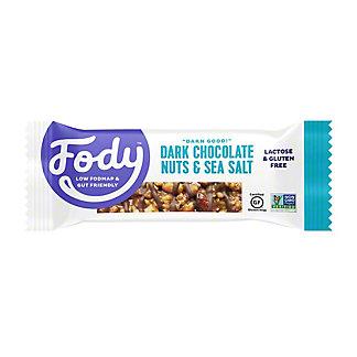 Fody Dark Chocolate Sea Salt Bar, 1.41 oz