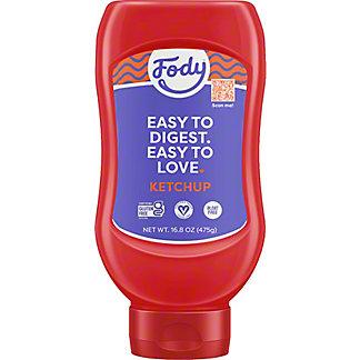 Fody Tomato Ketchup, 16.8 oz
