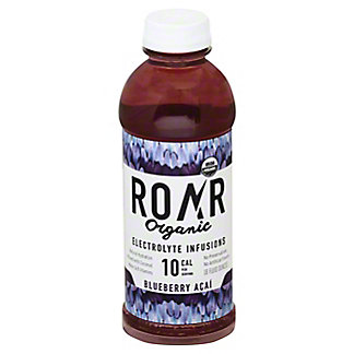 Roar Organic Blueberry Acai Sports Drink, 18 oz