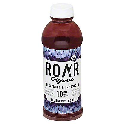 Roar Organic Blueberry Acai Sports Drink, 18 oz