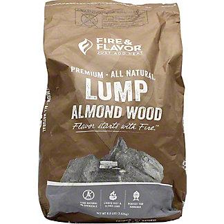 Fire & Flavor Lump Almond Wood, 8 lb