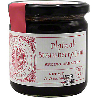 The Preservatory Plain Ol Strawberry Jam, 14.11 Oz