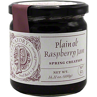 The Preservatory Plain Ol Raspberry Jam, 14.11 Oz