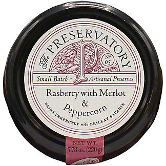 The Preservatory Raspberry Merlot & Peppercorn, 7.78 oz
