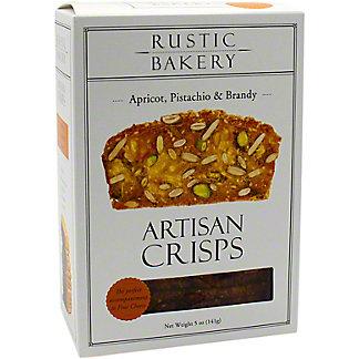 Rustic Bakery Apricot Pistachio Artisan Crisps, 5 OZ
