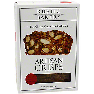 Rustic Bakery Cherry Cocoa Almond Artisan Crisps, 5 OZ