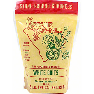 Geechie Boy Mill White Grits, 1.5 lb