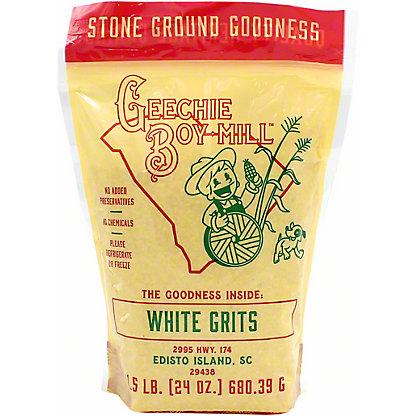 Geechie Boy Mill White Grits, 1.5 lb