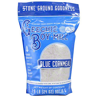 Geechie Boy Mill Blue Cornmeal, 1.5 LB