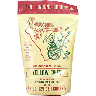 Geechie Boy Mill Yellow Grits, 1.5 LB