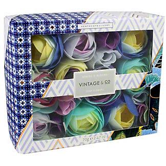 Heathcote & Ivory Braids & Blooms Soap Flowers, 70 G