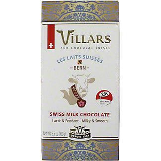 Villars 100% Bern Alps Milk Chocolate, 3.53 OZ