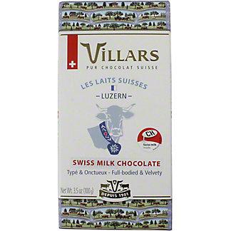 Villars 100% Luzern Alps Milk Chocolate, 3.53 OZ