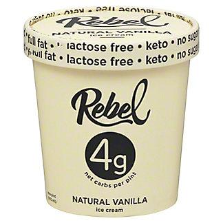 Rebel Ice Cream Vanilla, 16 OZ