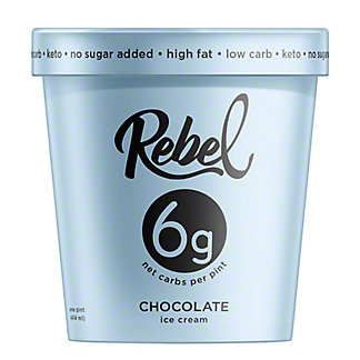 Rebel Ice Cream Chocolate, 16 OZ