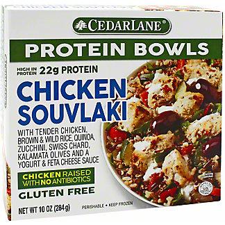 Cedarlane Chicken Souvlaki Entree Bowl, 10 OZ