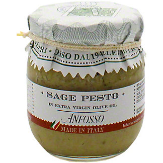 Anfosso Sage Pesto In Extra Virgin Olive Oil, 6.43 oz