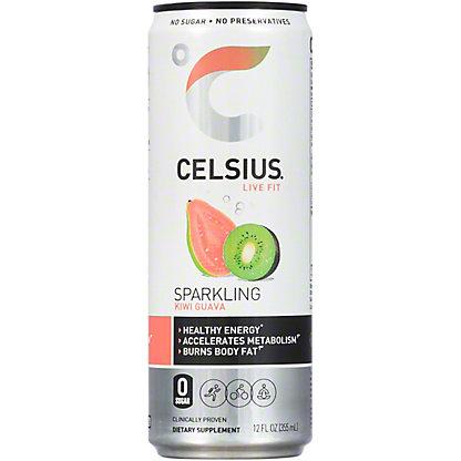 Celsius Sparkling Kiwi Guava, 12 oz