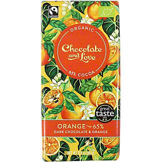 Chocolate And Love Orange 65%, 80 g