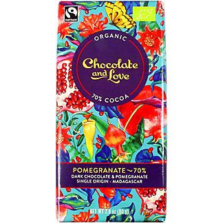 Chocolate And Love Pomegranate 70%, 80 g