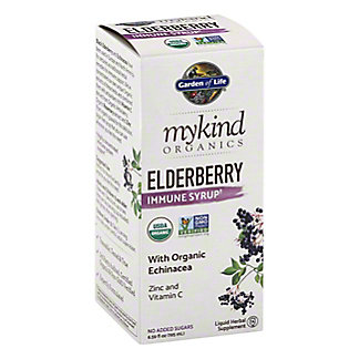 Garden of Life My Kind Organic Elderberry Immune Syrup, 6.59 oz