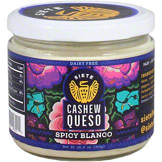 Siete Cashew Queso Spicy Blanco, 10.8 OZ