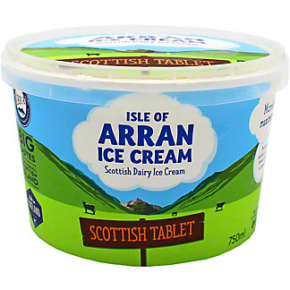 Isle Of Arran Scottish Tablet Ice Cream, 750 mL