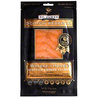 St James Smokehouse Scotch Reserve Salmon Whisky Honey, 4 OZ