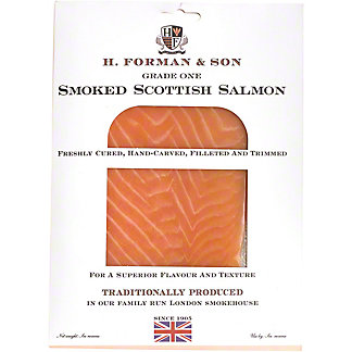 H Forman & Son Smoked Salmon, 4 OZ