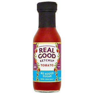 Real Good Tomato Ketchup No Sugar Added, 10 OZ