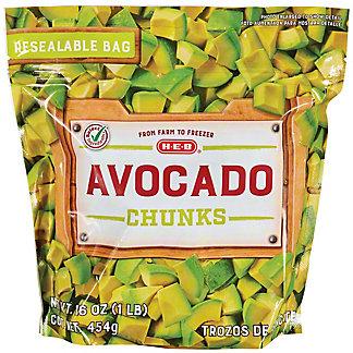 H-E-B Select Ingredients Avocado Chunks, 16 oz