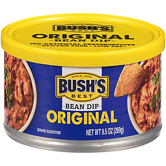 Bush's Best Bean Dip Original, 9.5 OZ