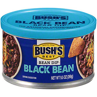 Bush's Best Bean Dip Black Bean, 9.5 OZ
