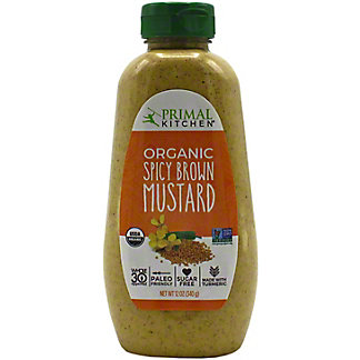 Primal Kitchen Organic Spicy Brown Mustard, 12 OZ